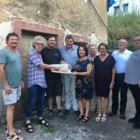 SPD besucht Synagoge in Laudenbach